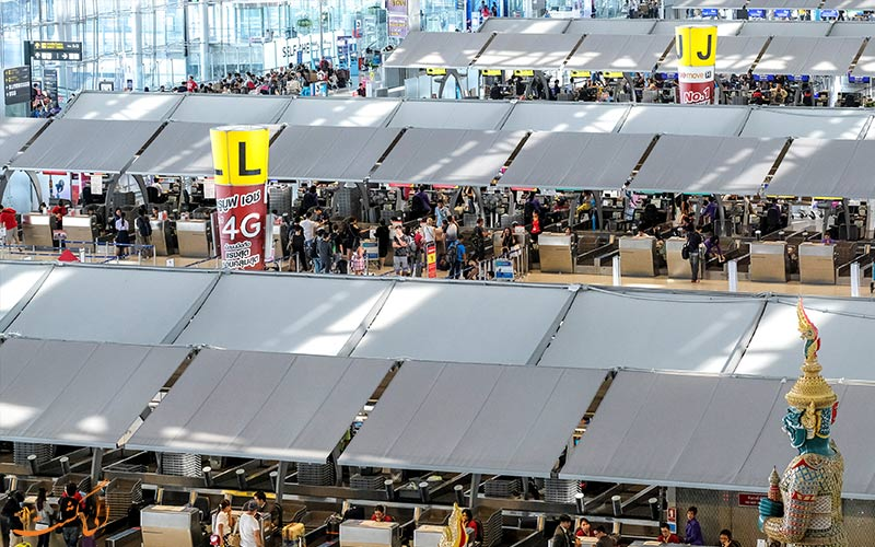 امکانات فرودگاه یوتاپائو تایلند