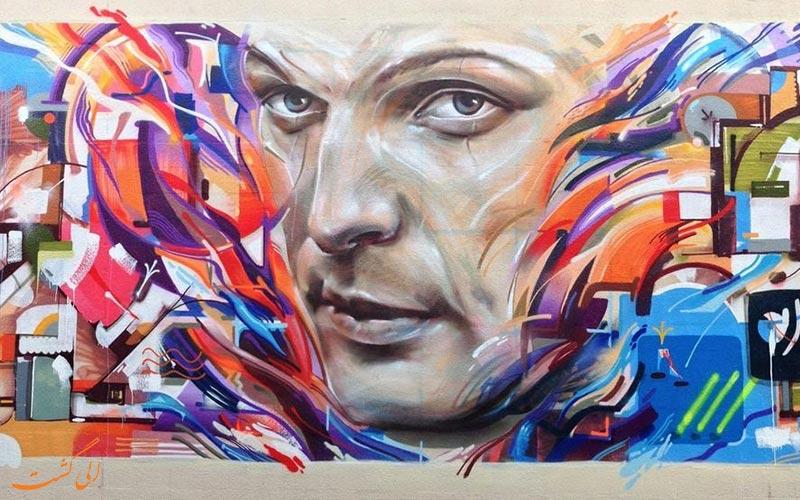 فستیوال های هنر خیابانی- نقاشی دیواری