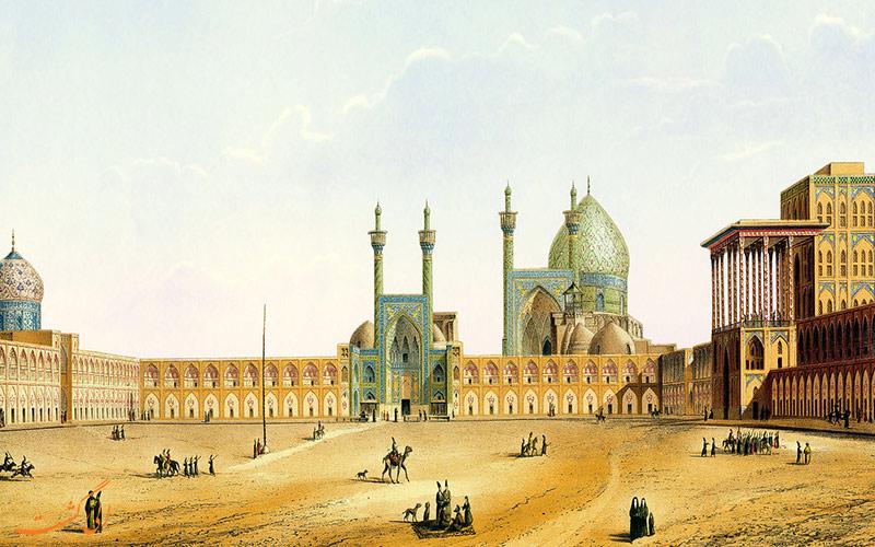 نقش-جهان-در 1800میلادی