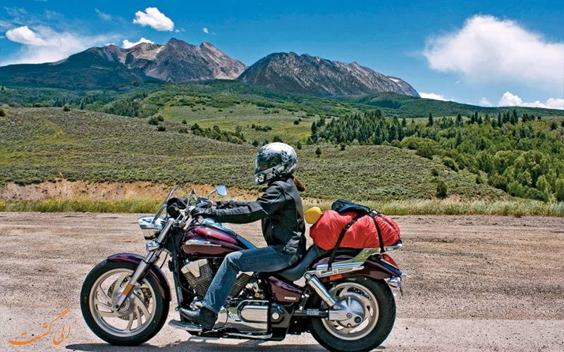 موتورسیکلت- سفر