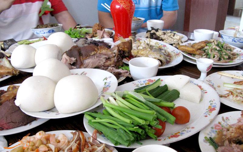 نکات سفر-غذاهای چین