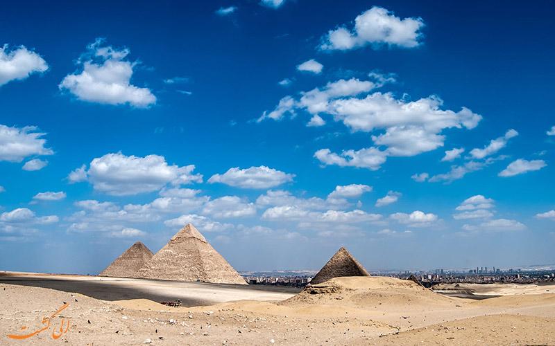 نکات سفر به مصر-اهرام ثلاثه