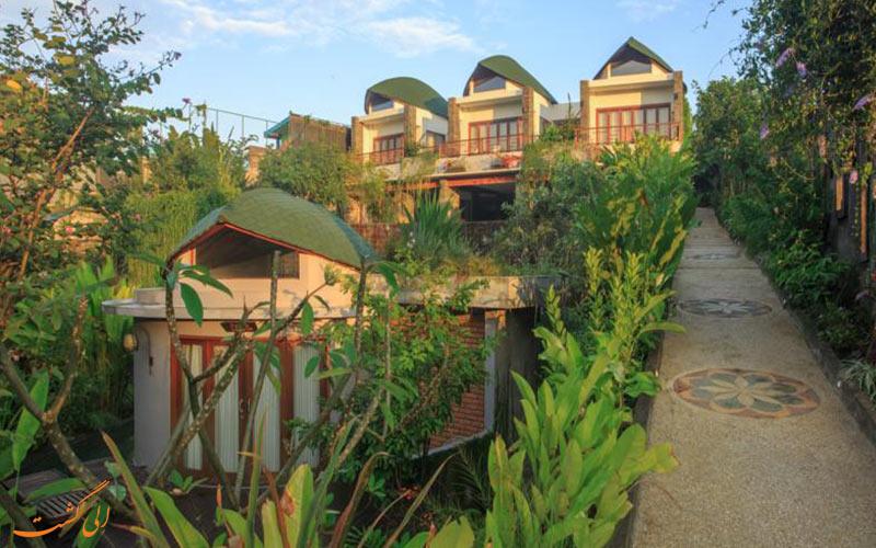 هتل های جنگلی در بالی