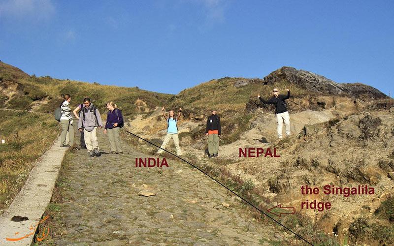 موقعیت پارک ملی سینگالیا در هند