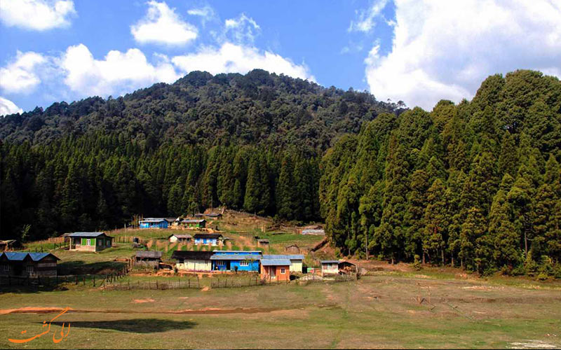 پارک ملی سینگالیا در هند-هتل