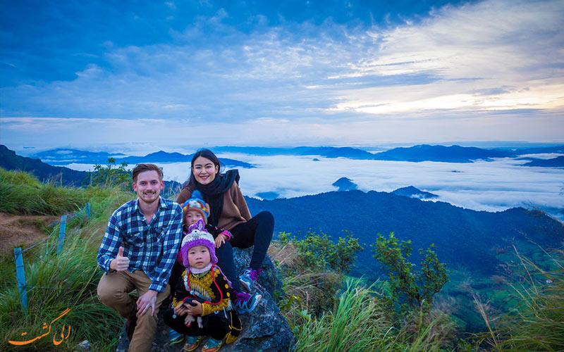 کوه فو چی فاه تایلند