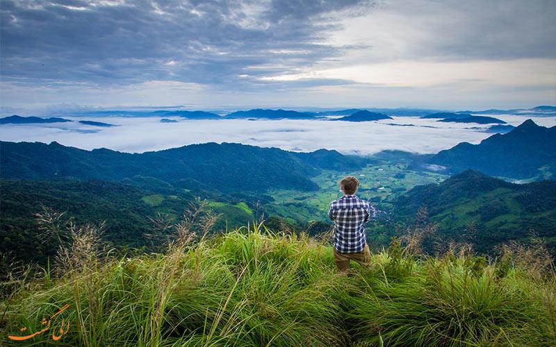 کوه فو چی فاه چیانگ رای تایلند