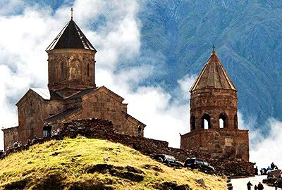 کلیسای ترینیتی گرگتی گرجستان
