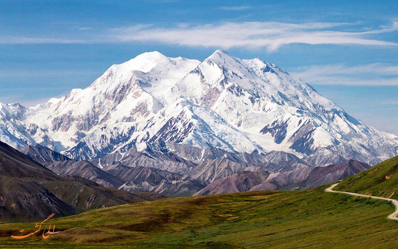 زیباترین کوه های جهان  دنالی، آلاسکا