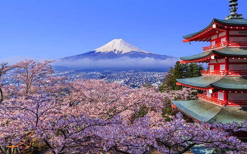 کوه فوجی، ژاپن