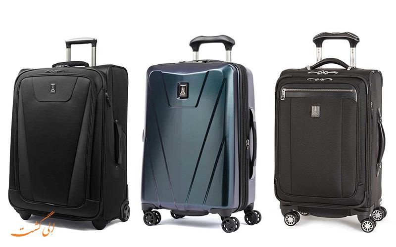 جنس های مختلف چمدان