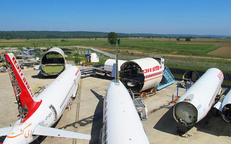 بازیافت هواپیماهای از کار افتاده