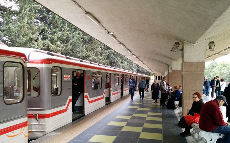 ایستگاهی در متروی تفلیس