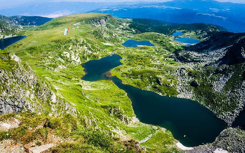 ۷ دریاچه ریلا بلغارستان