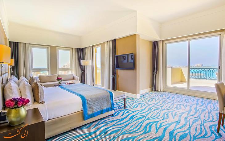 امکانات اتاق های هتل رکسوس
