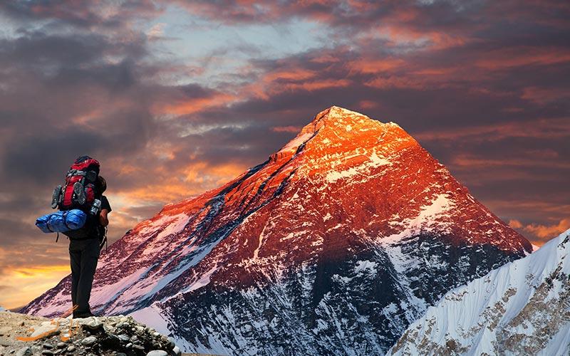 کوه اورست، چین