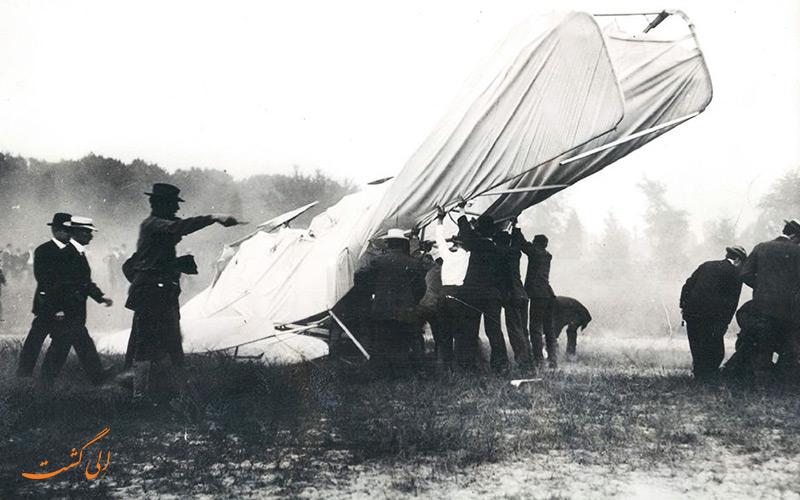 سقوط هواپیمای برادران رایت