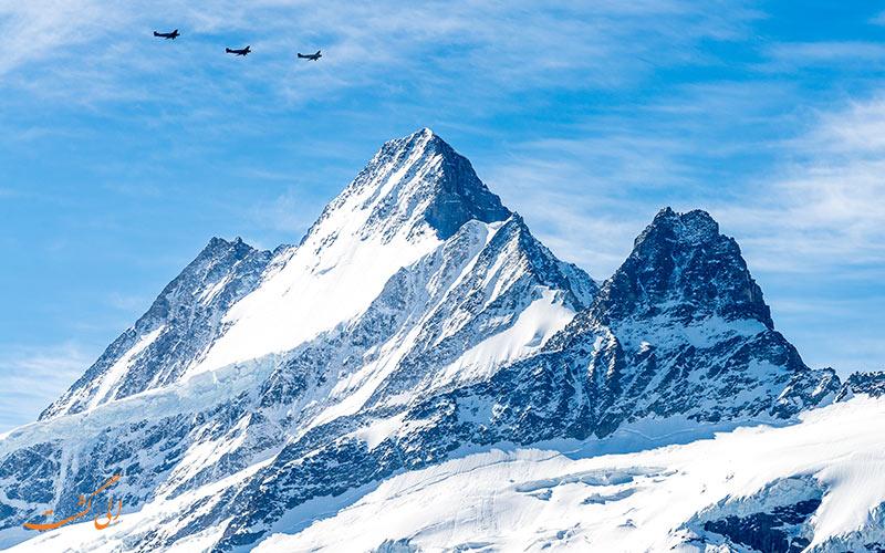 کوه ایگر، آلپ برنی، سوئیس