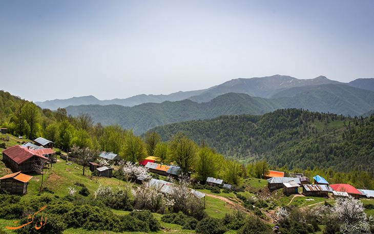 روستای سرولات در رامسر