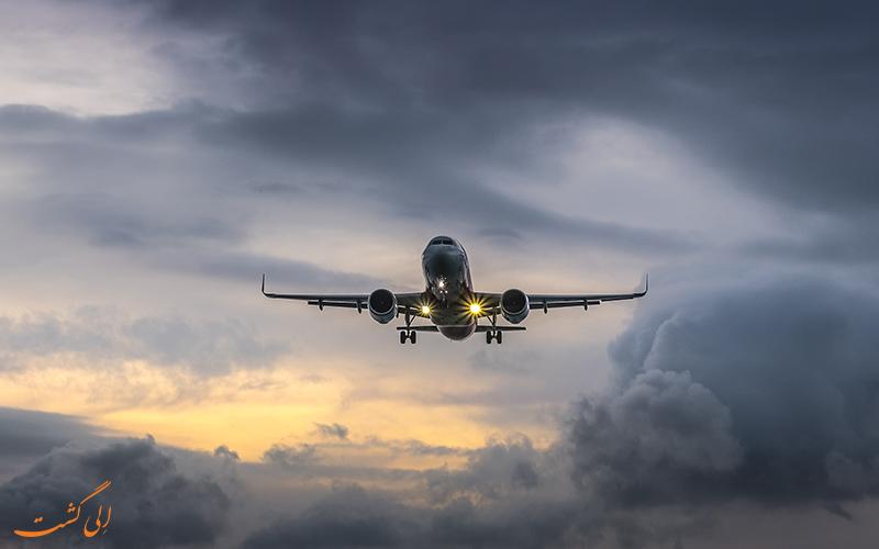 تلاطم جریان هوا در هنگام پرواز چیست؟