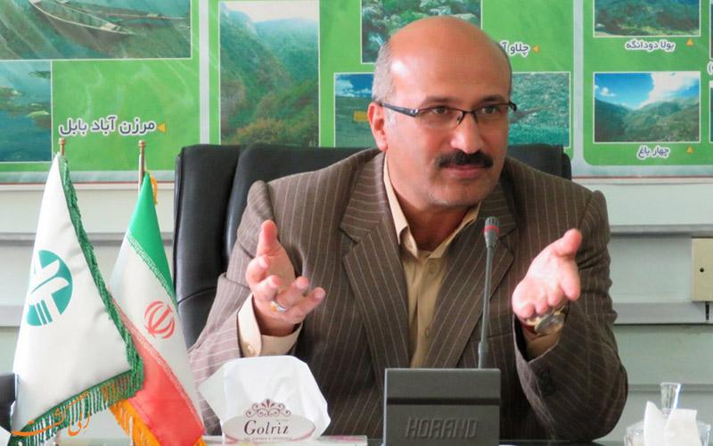 ، آقای حسینعلی ابراهیمی مدیر کل حفاظت محیط زیست استان مازندران