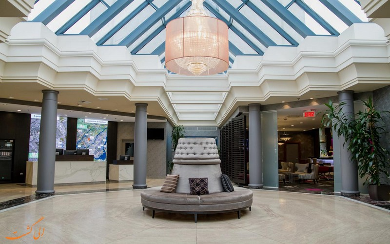 هتل 4 ستاره لاوال هیلتون در مونترال