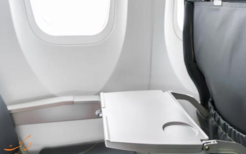 کثیف ترین نقاط هواپیما