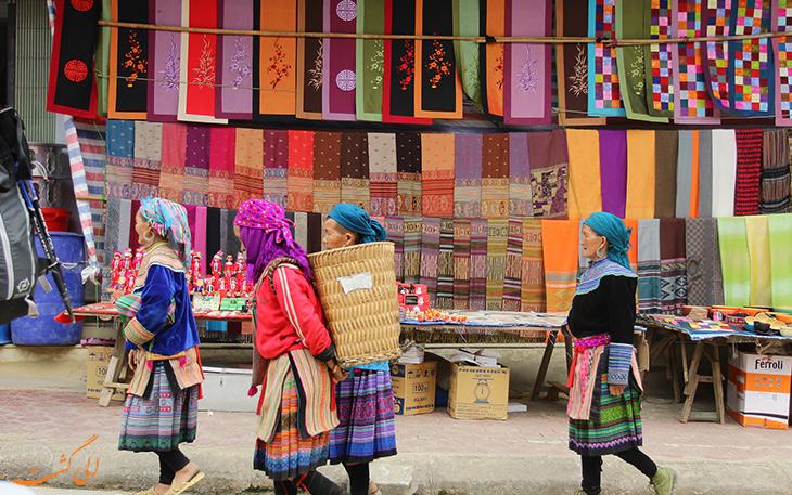 بازار باک در ویتنام