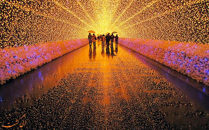جشنواره روشنایی در ژآپن