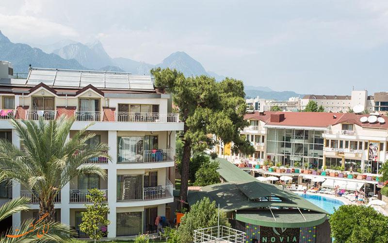 خدمات رفاهی اینفینیتی هتل کمر آنتالیا