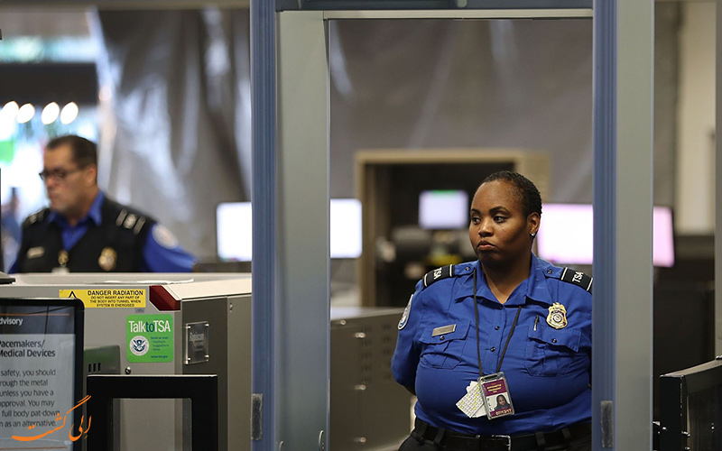 قسمت امنیتی فرودگاه