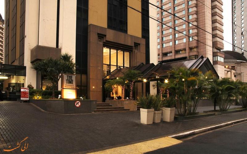 هتل تایم اوتون سویتز در سائوپائولو