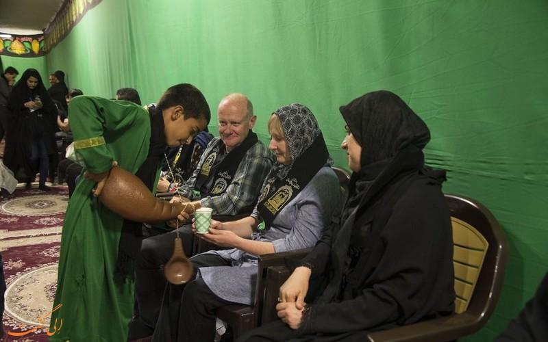 گردشگران خارجی در عزاداری محرم
