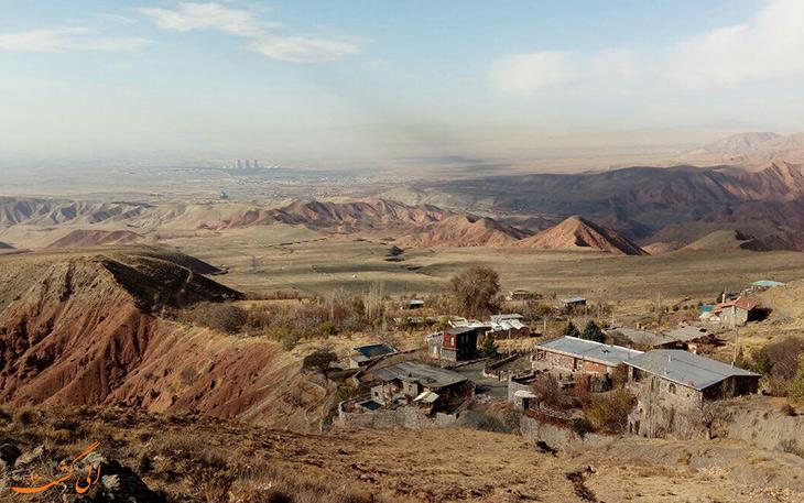روستای شاهکوه در استان گلستان