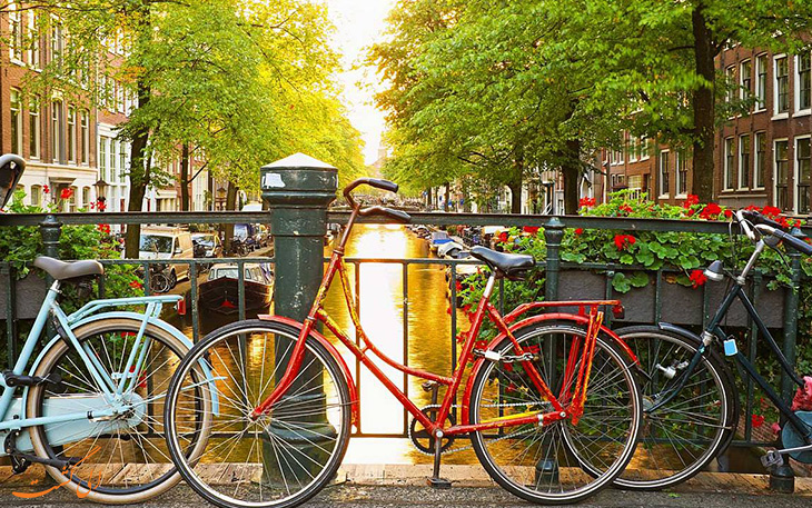 آمستردام پایتخت دوچرخه سواری دنیا