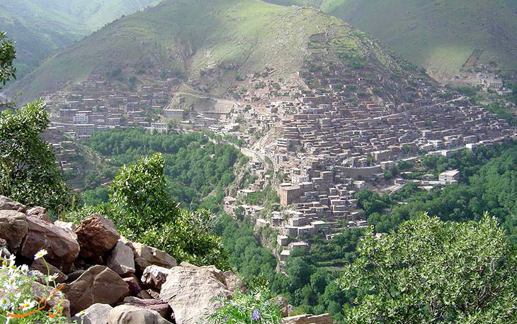 روستای هانی گرمله کردستان