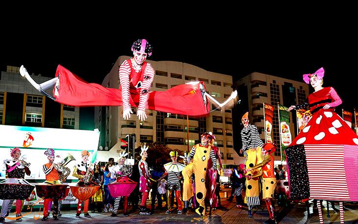 برنامه های مهیج در جشنواره خرید در شهر دبی