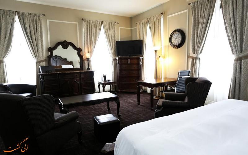 هتل 4 ستاره کلارندون کبک سیتی