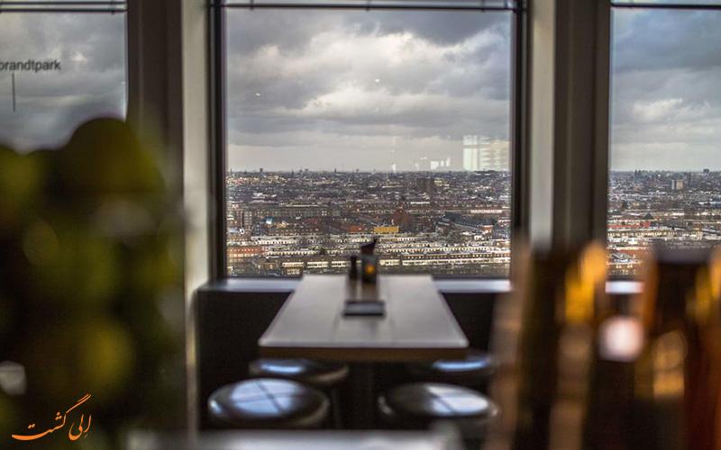 موقعیت هتل رامادا آپولو آمستردام سنتر