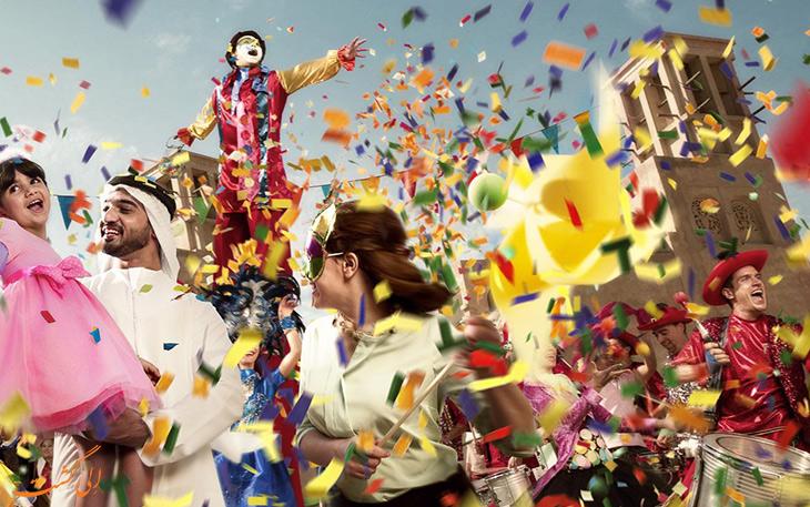 شادی در جشنواره خرید دبی