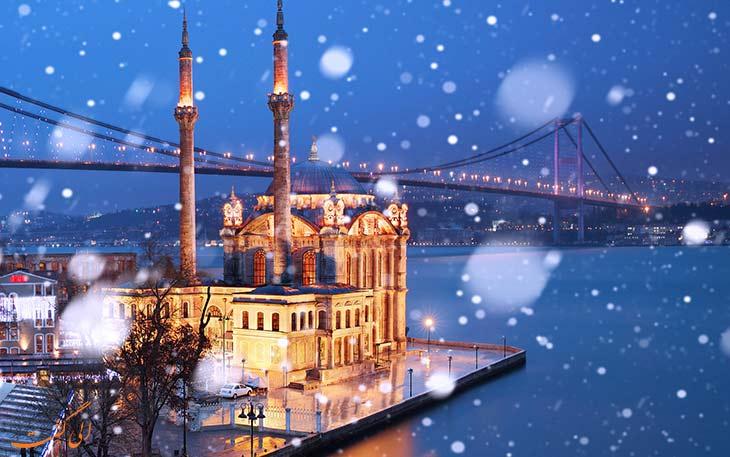 استانبول در زمستان