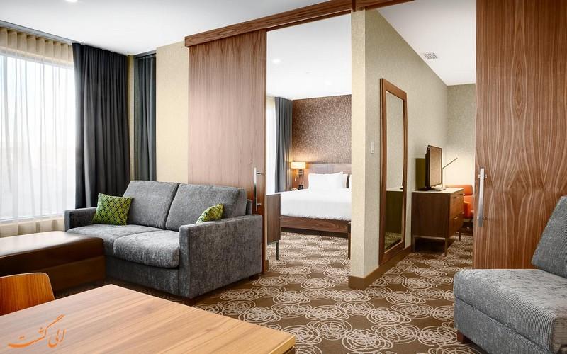 هتل 4 ستاره لاوال هیلتون مونترال