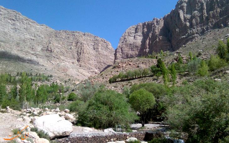 آبشارهای سیمک در کرمان