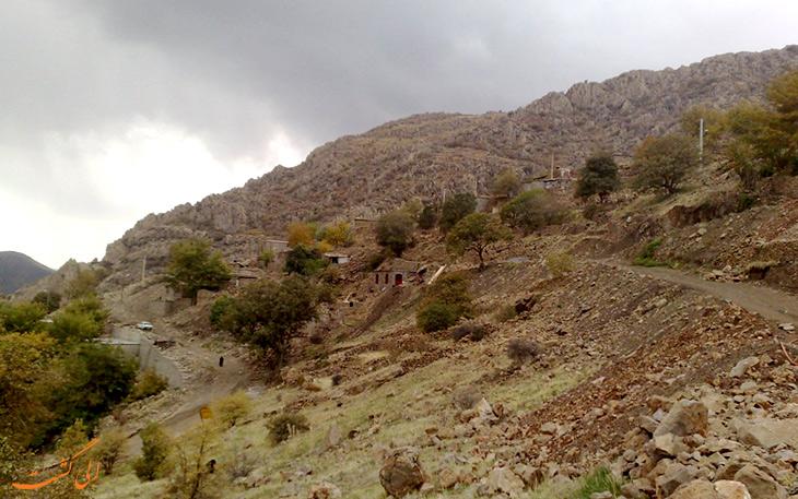 طبیعت روستای هانی گرمله کردستان
