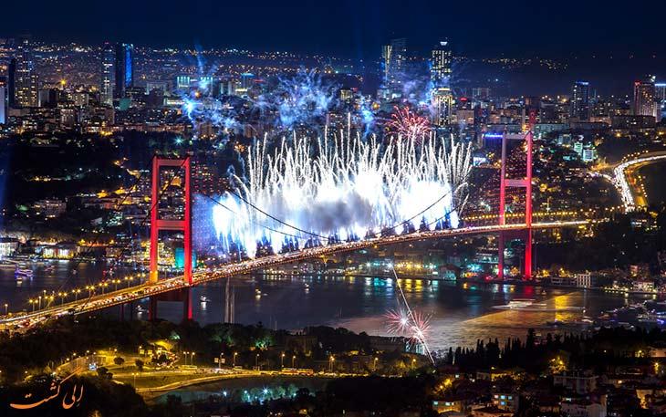 استانبول در تابستان