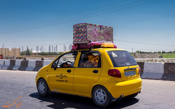 هزینه حمل و نقل در سمرقند