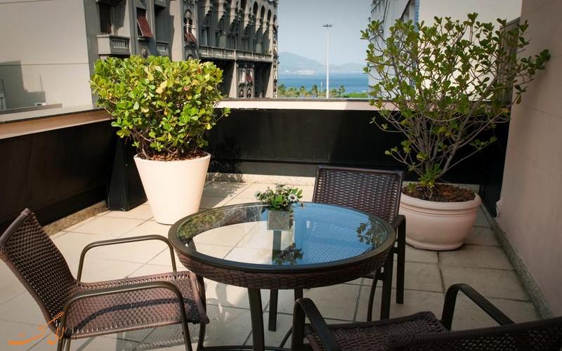 هتل 3 ستاره رجینا در ریو