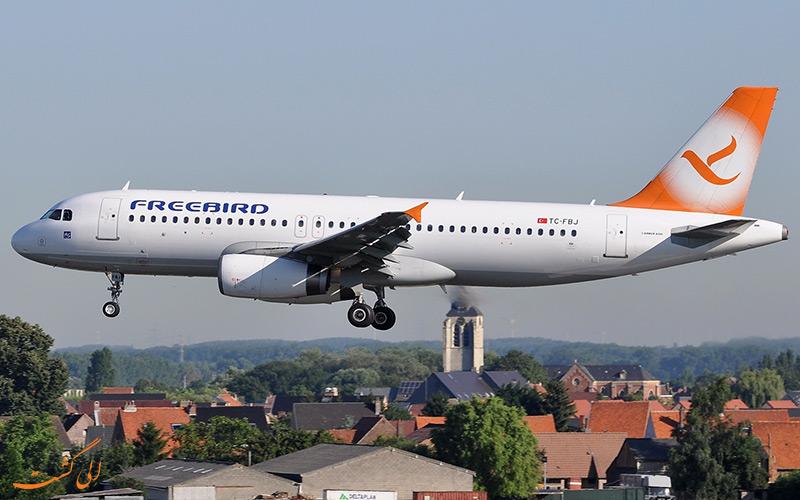 آشنایی با شرکت هواپیمایی فری برد ایرلاینز ترکیه | Freebird Airlines