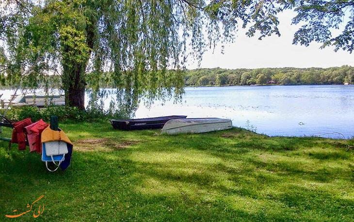 طبیعت در دریاچه لاک پشت
