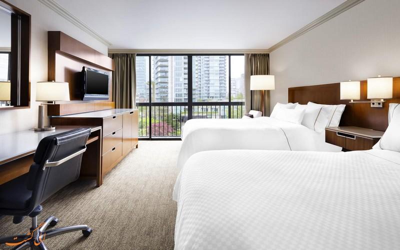 هتل 4 ستاره وستین بای شور ونکوور